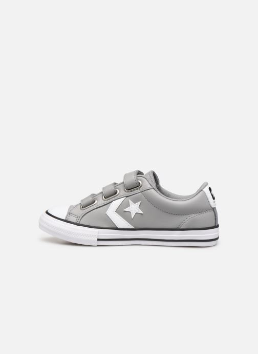 Sneakers Converse Star Player EV 3V Leather OX Grijs voorkant