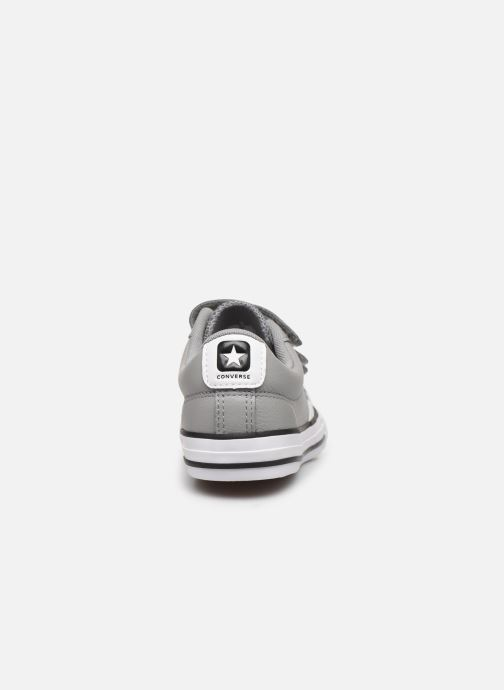 Deportivas Converse Star Player EV 3V Leather OX Gris vista lateral derecha
