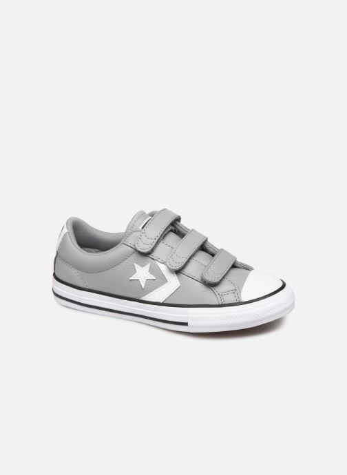 Deportivas Converse Star Player EV 3V Leather OX Gris vista de detalle / par