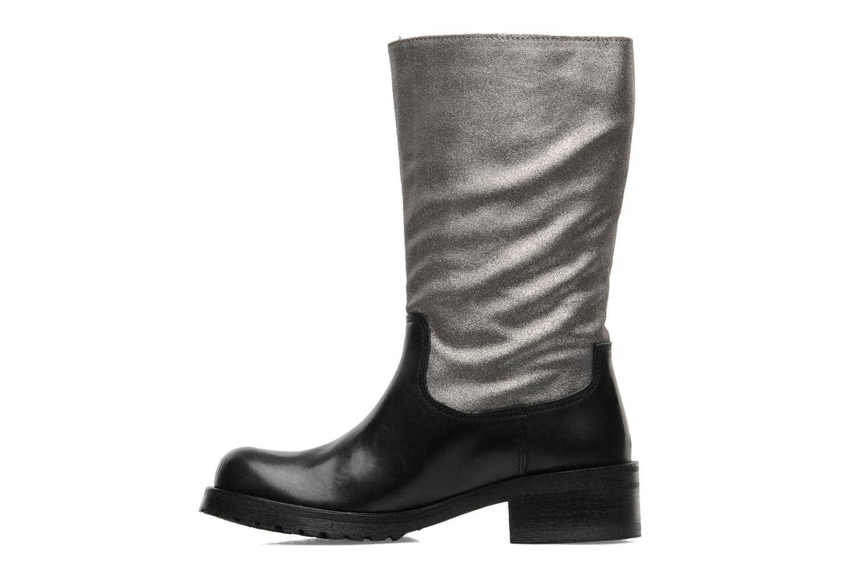 Bottines et boots Pastelle Petalo Noir vue face