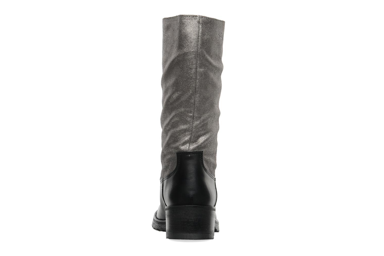 Bottines et boots Pastelle Petalo Noir vue droite