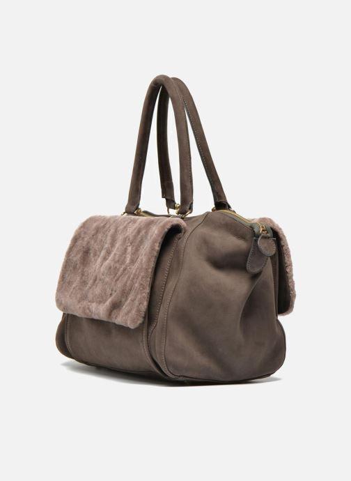 Handtaschen MySuelly Tina braun ansicht von rechts