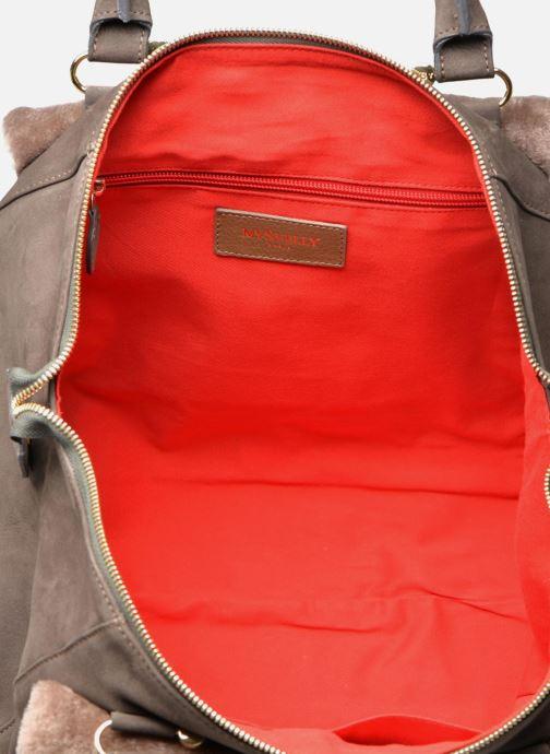 Handtassen MySuelly Tina Bruin achterkant