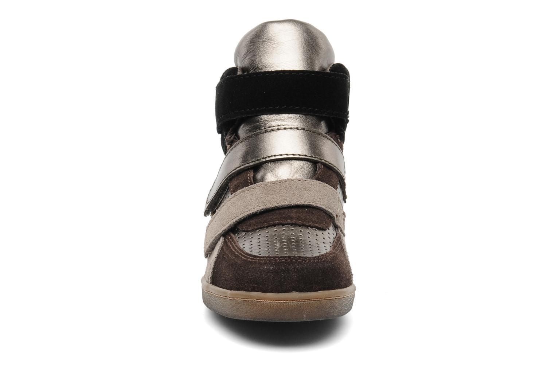 Baskets Ash Boogie Marron vue portées chaussures