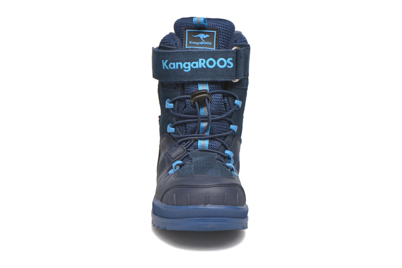 Bottines et boots Kangaroos Adrian Bleu vue portées chaussures