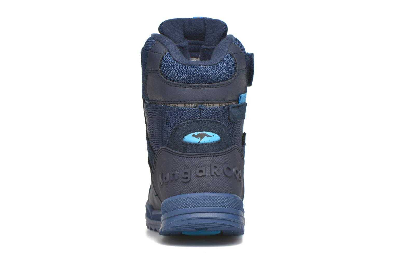 Bottines et boots Kangaroos Adrian Bleu vue droite