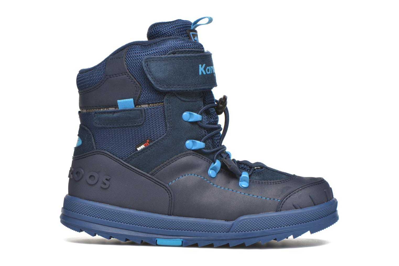 Bottines et boots Kangaroos Adrian Bleu vue derrière