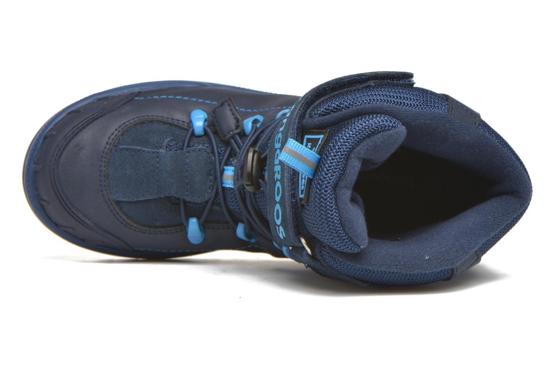 Bottines et boots Kangaroos Adrian Bleu vue gauche