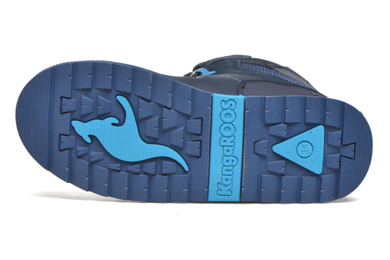 Bottines et boots Kangaroos Adrian Bleu vue haut