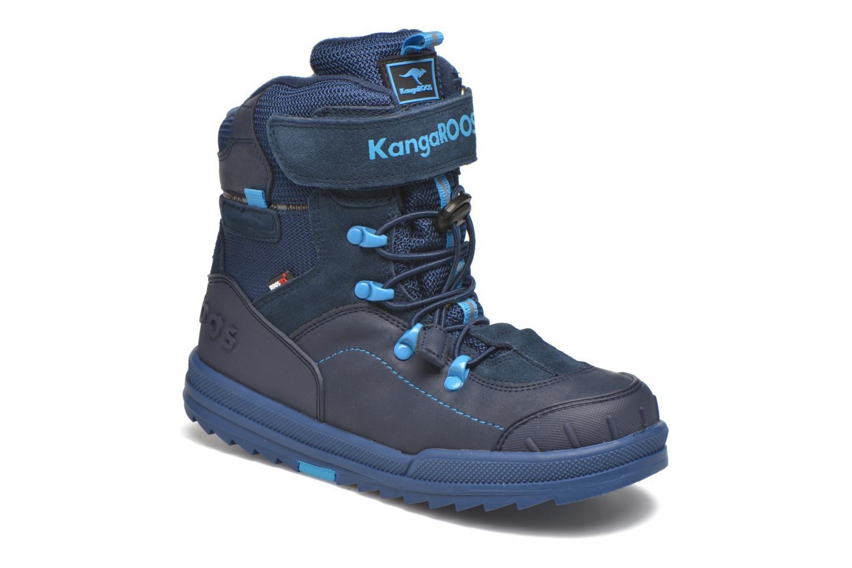 Bottines et boots Kangaroos Adrian Bleu vue détail/paire