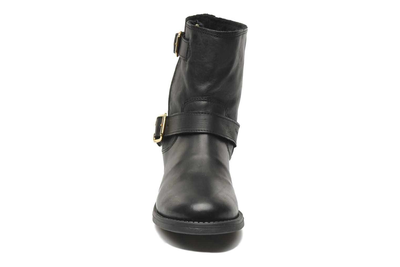 Bottines et boots Pieces Iza Noir vue portées chaussures