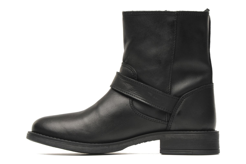 Bottines et boots Pieces Iza Noir vue face