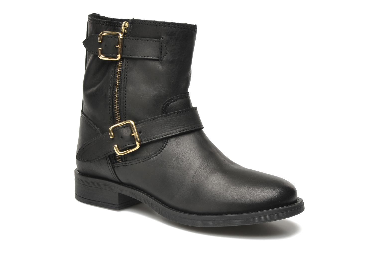 Bottines et boots Pieces Iza Noir vue détail/paire
