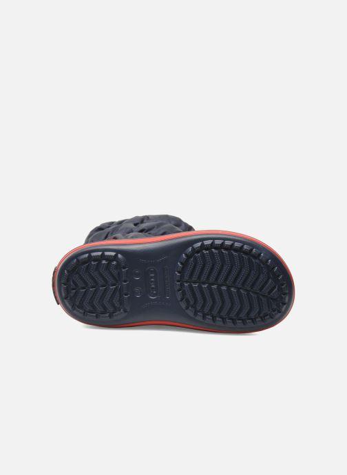 Stivaletti e tronchetti Crocs Winter Puff Boot Kids Azzurro immagine dall'alto