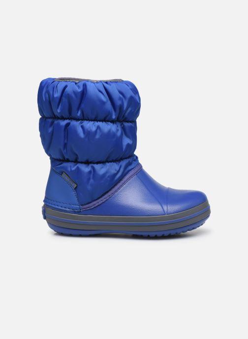 Ankelstøvler Crocs Winter Puff Boot Kids Blå se bagfra