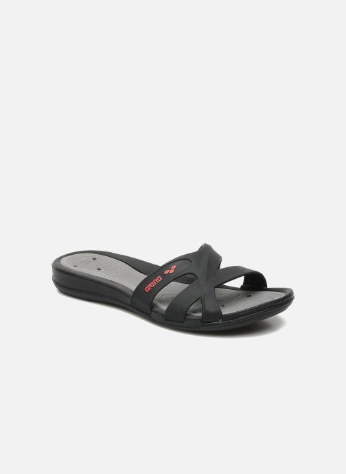 Zapatillas de deporte Arena Athena Woman Hook Negro vista de detalle / par