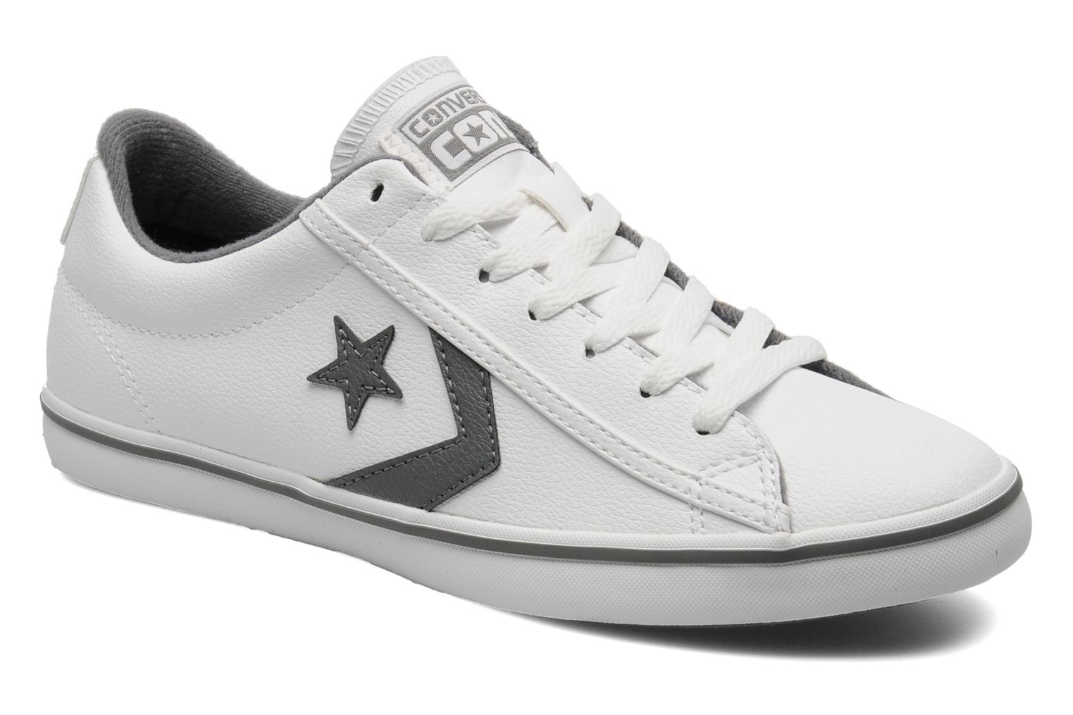 b4c4d81655ea ... sweden trainers converse star player lo pro cuir ox m white detailed  view pair view 04862