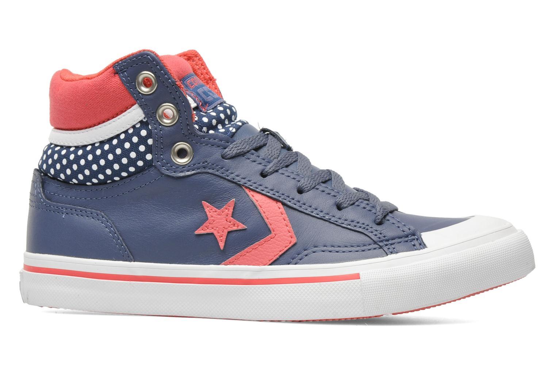 Baskets Converse Pro Blaze Polka Dot Leather Hi W Bleu vue derrière