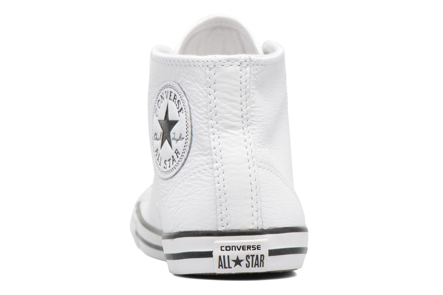 Trainers Converse All Star Dainty Mid W White view from the right