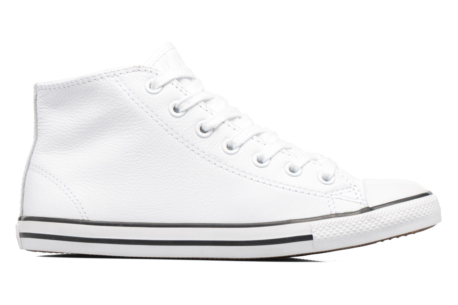 Trainers Converse All Star Dainty Mid W White back view