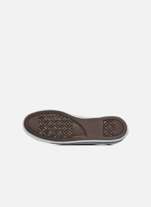 Sneaker Converse All Star Dainty Cuir Ox W weiß ansicht von oben