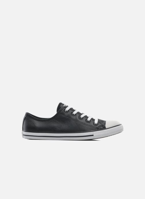 Sneaker Converse All Star Dainty Cuir Ox W schwarz ansicht von hinten