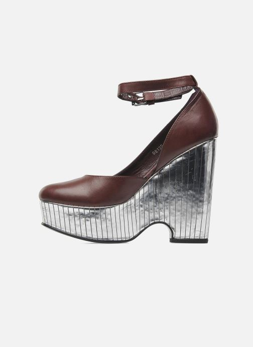 Zapatos de tacón Opening Ceremony Bellagio Platform Vino vista de frente