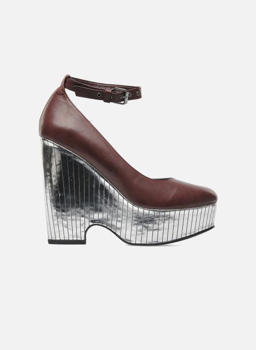 Zapatos de tacón Opening Ceremony Bellagio Platform Vino vistra trasera