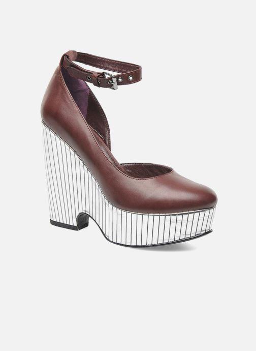 Zapatos de tacón Opening Ceremony Bellagio Platform Vino vista de detalle / par