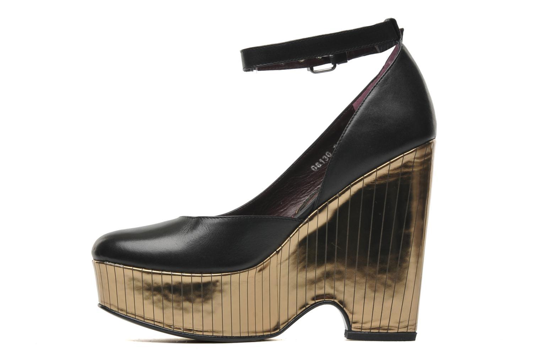 Zapatos de tacón Opening Ceremony Bellagio Platform Negro vista de frente