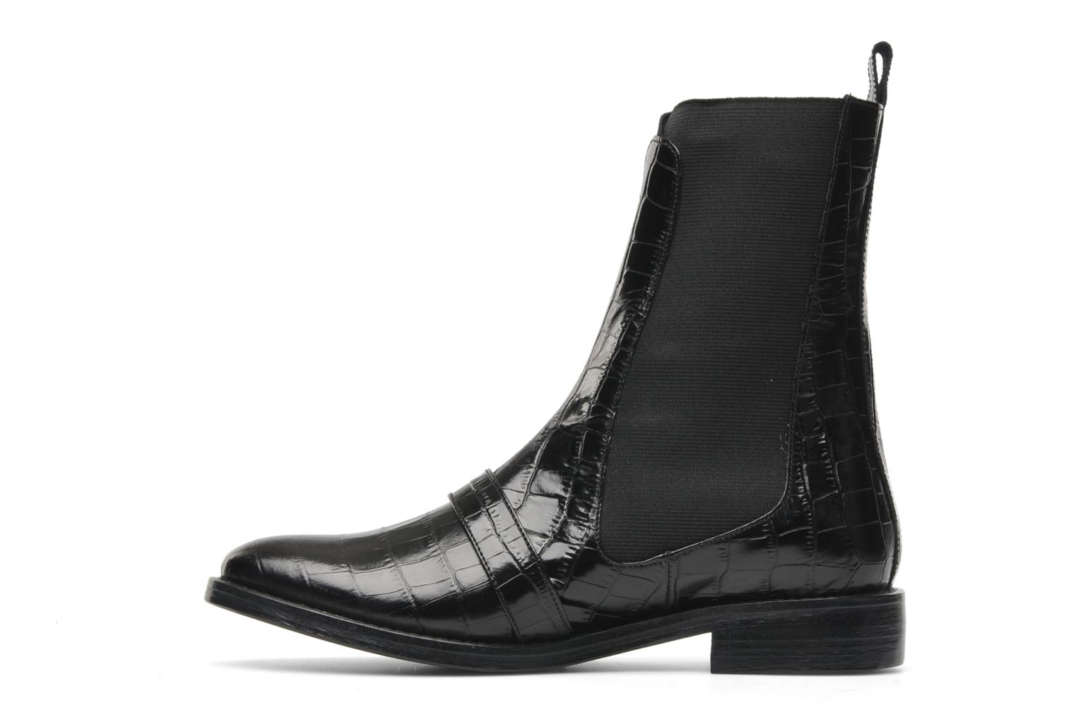 Bottines et boots Opening Ceremony Luxor Embossed Boot Noir vue face