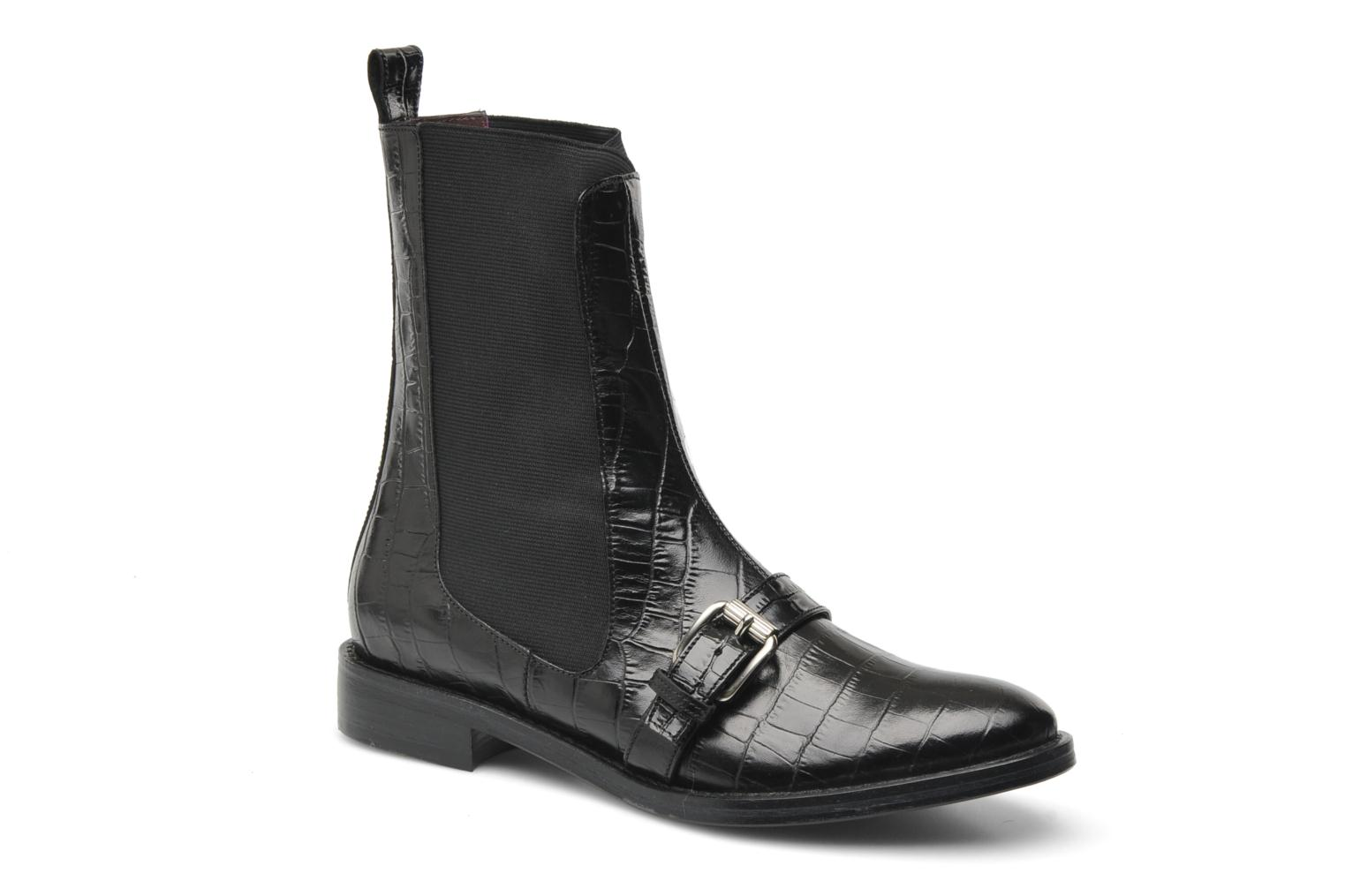 Bottines et boots Opening Ceremony Luxor Embossed Boot Noir vue détail/paire
