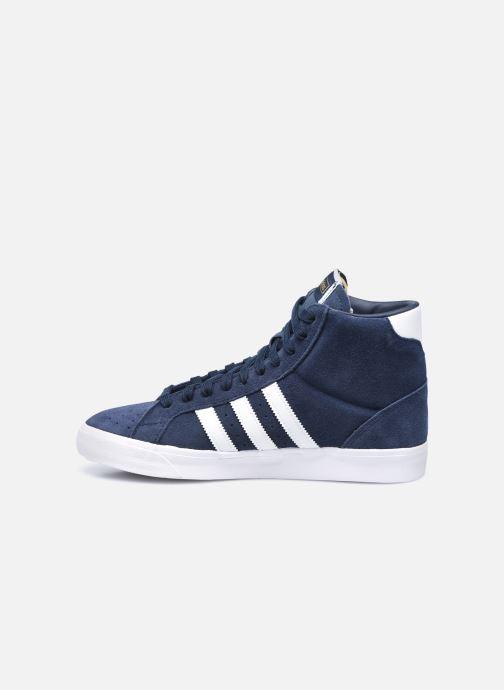 Sneaker adidas originals Basket Profi blau ansicht von vorne
