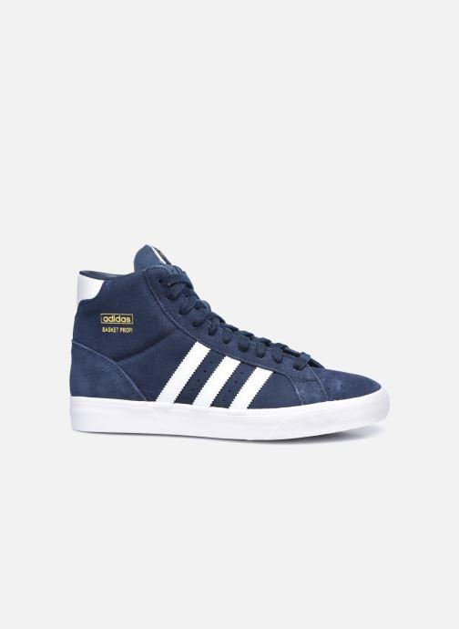 Sneaker adidas originals Basket Profi blau ansicht von hinten