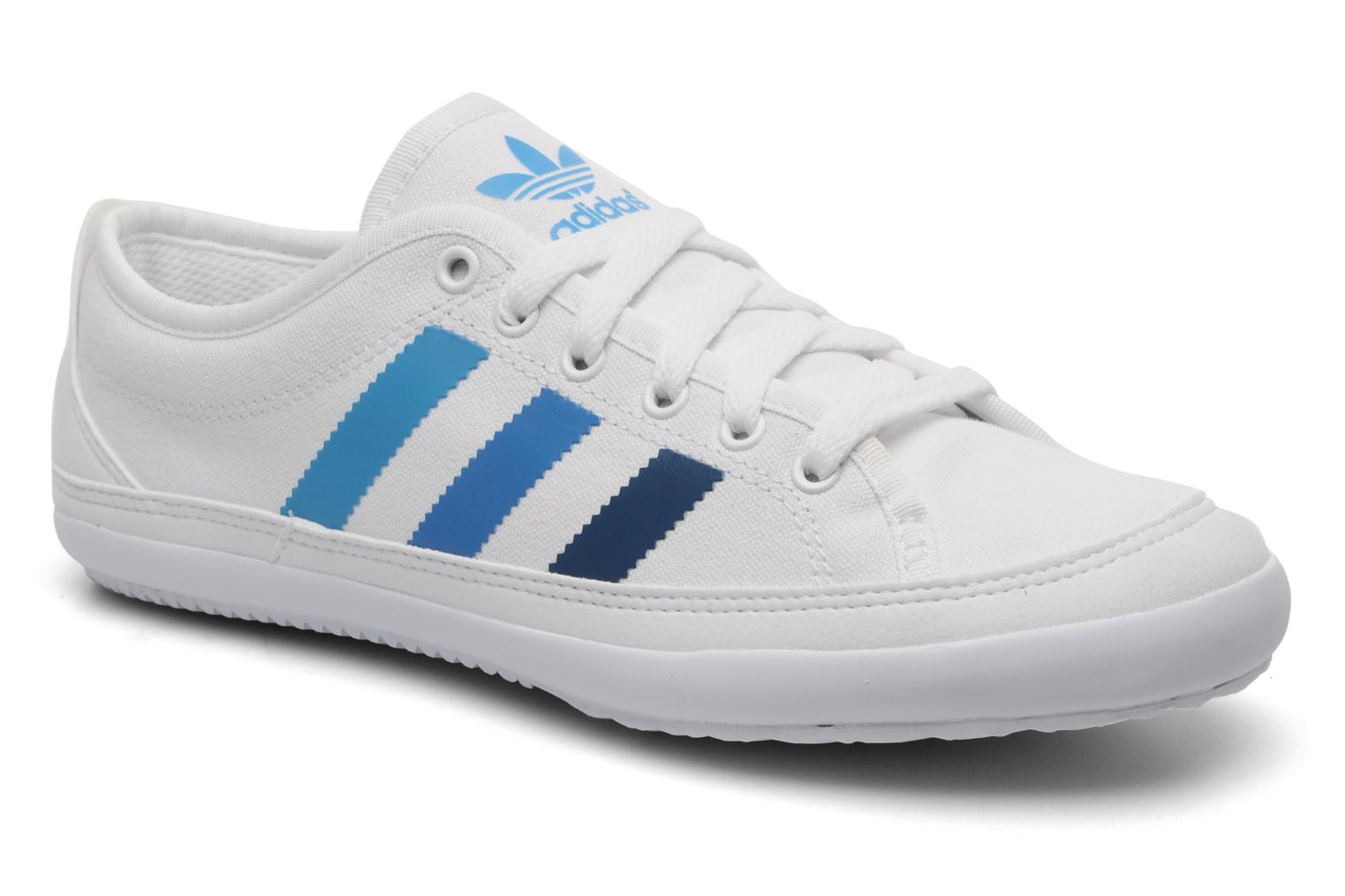 Baskets Adidas Originals Nizza Remodel Blanc vue détail/paire