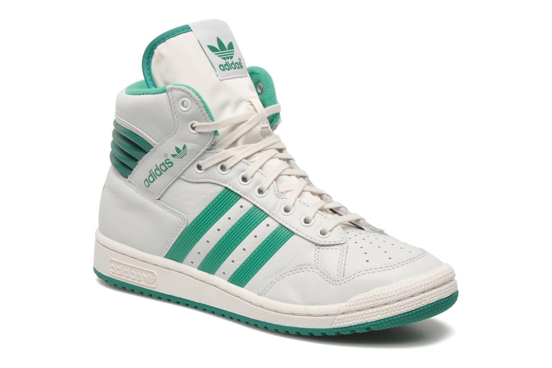super popular cede2 b8fa8 ... best baskets adidas originals pro conference hi blanc vue détail paire  7fe96 18690