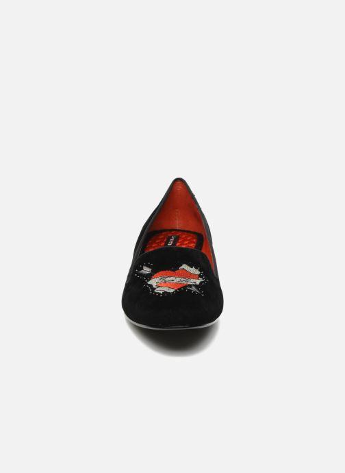 Mocassins KG By Kurt Geiger Lux Noir vue portées chaussures