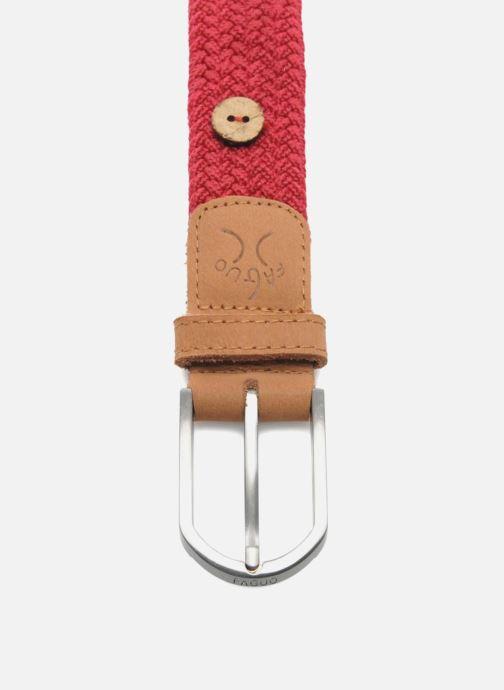 Cinturones Faguo Cinturón Rojo vistra trasera