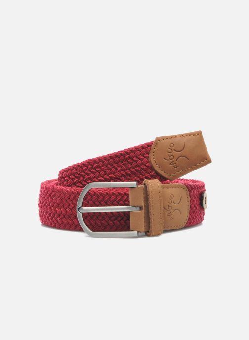 Cinturones Faguo Cinturón Rojo vista de detalle / par