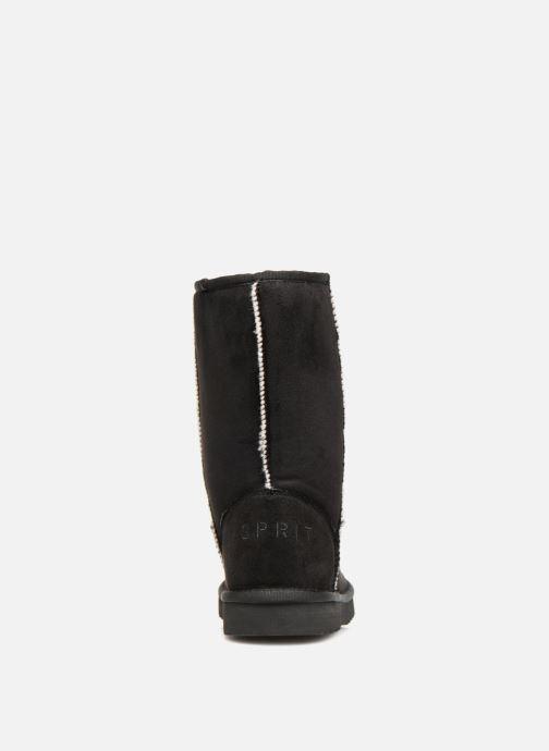 Bottines et boots Esprit Uma Classic Noir vue droite