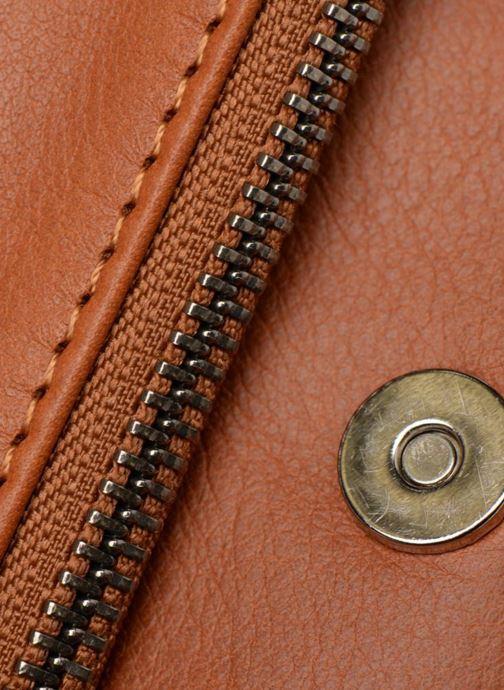 Bolsos de mano Sabrina Léonie Marrón vista lateral izquierda