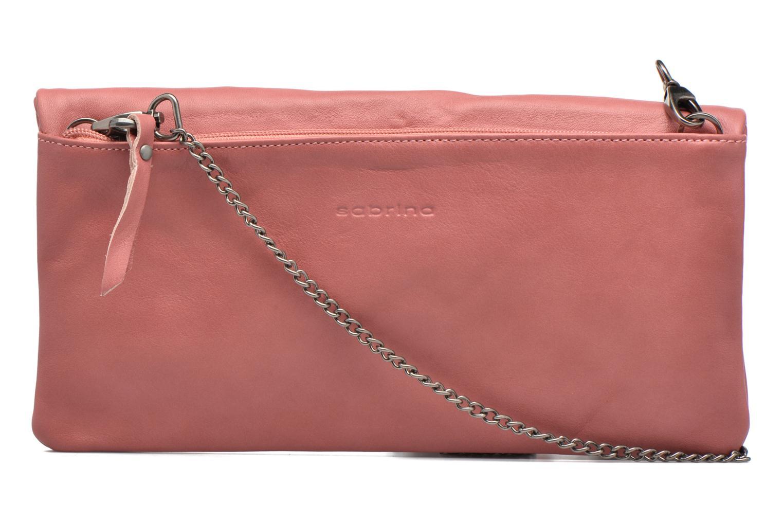 Håndtasker Sabrina Léonie Pink se forfra