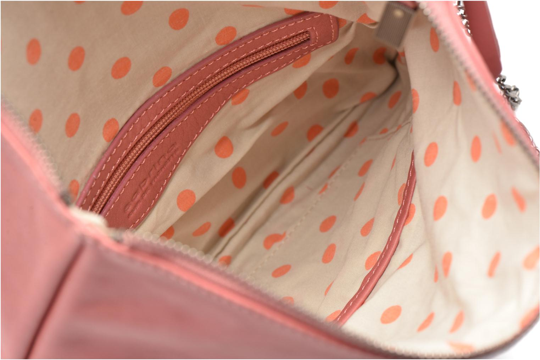 Håndtasker Sabrina Léonie Pink se bagfra