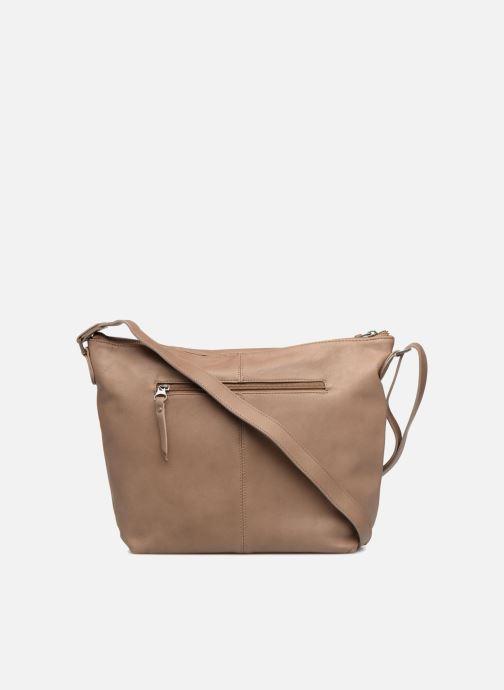Handbags Sabrina Jeanne Beige front view