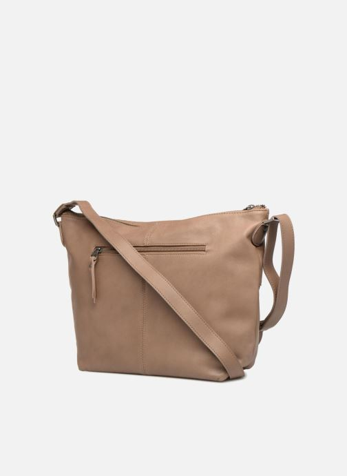 Handbags Sabrina Jeanne Beige view from the right