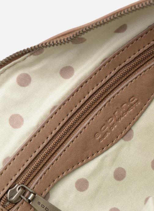 Handtaschen Sabrina Jeanne beige ansicht von hinten