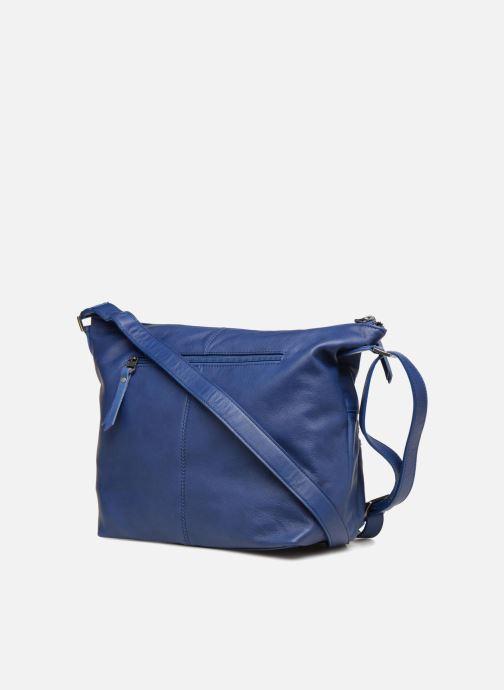 Handtaschen Sabrina Jeanne blau ansicht von rechts