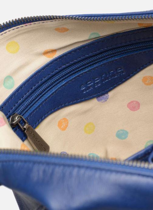 Handtaschen Sabrina Jeanne blau ansicht von hinten
