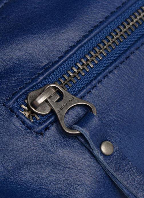 Handtaschen Sabrina Jeanne blau ansicht von links