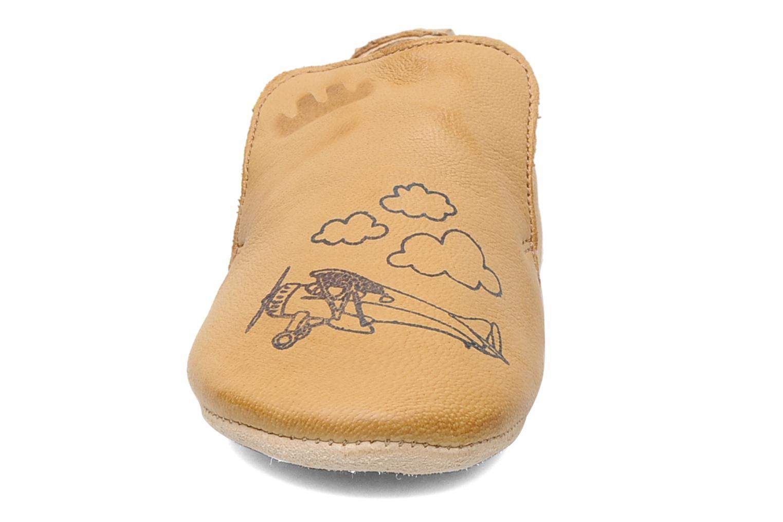 Chaussons Easy Peasy Blublu Eco Marron vue portées chaussures